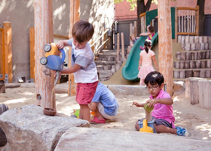 Beacon Hill Nursery School Front Play Yard